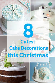 the 8 cutest cake decorations this christmas hobbycraft blog