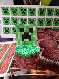 232 best minecraft party images on pinterest birthday ideas
