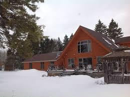 majestic log home on 400feet of lake michigan frontage cedar
