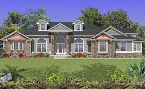 brick home designs awesome colonial house plans brick stone wall