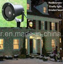 china sensor laser garden light for christmas tree house building