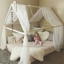 childrens canopy bed toddler kids tents canopies delta children