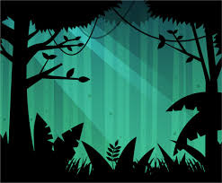Deep Forest Green Free Deep Forest Background Vector Vector Art U0026 Graphics