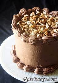 german chocolate cake with chocolate cream cheese frosting recipe
