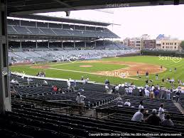 Wrigley Field Bathroom Chicago Cubs Seating Chart U0026 Interactive Map Seatgeek