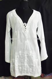 indian embroidered cotton dresses white indian embroidered cotton