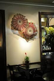 Art Glass Sconces Beverly Hills Four Seasons Art Glass Wall Sconces