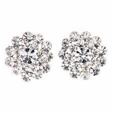 swarovski crystal flower necklace images Swarovski crystal swarovski clear white diamond crystal flower jpg