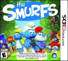 smurfs nintendo 3ds toys