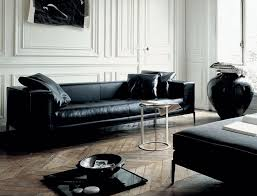 Best  Black Leather Couches Ideas On Pinterest Black Couch - Leather sofa interior design