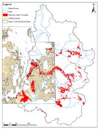 Utah Blm Map by Geographic Map Of The Extent Of The Mancos Shale Formation In