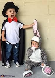 Halloween Costumes Siblings Cute Creepy Magician Rabbit Halloween Costume Contest Costume