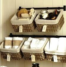 Bathroom Baskets For Storage Wicker Basket Storage Ideas 6 Bathroom Basket Storage With Label