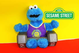 cookie monster exercise sesame street cookie monster eats healthy