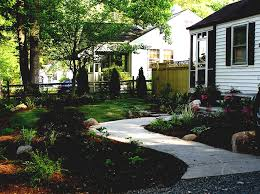 Country Backyard Landscaping Ideas by Landscaping Ideas And Front Yards On Pinterest Idolza