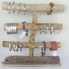 driftwood jewelry display by cocoblack on etsy 45 00