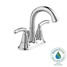 american standard tropic 4 in 2 handle high arc bathroom faucet