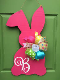 Wooden Hanging Easter Decorations by 585 Best Door Hangers Images On Pinterest Wooden Door Hangers