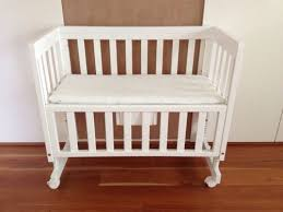Bed Side Cribs Bed Side Baby Cribs Inertiahome