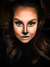 Deer Head Halloween Costume Deer Makeup U2026 Pinteres U2026