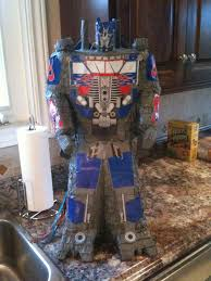 optimus prime pinata fly away the complete