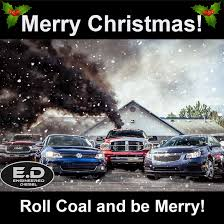 Diesel Truck Meme - merry christmas roll coal jpg
