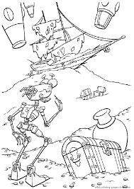 treasure planet coloring pages coloring pages kids disney