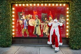 the 6 best christmas window displays in london 2017 country