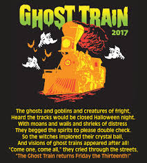 ghost train poem 2017 theme park adventure