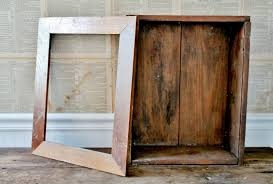Cabinet Door Wood Diy Primitive Cabinet From A Repurposed Wooden Crate And Frame