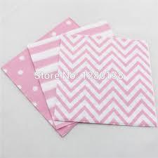 light pink paper dinner napkins 200pcs light pink tableware paper napkins disposable chevron striped