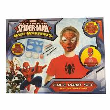 marvel avengers spiderman face paint washable face painting