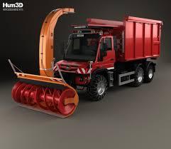 mercedes truck unimog mercedes unimog u530 paul plow truck 2016 3d model hum3d