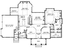 one floor plans with two master suites single house plans with two masters home deco plans