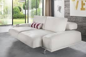 canap chauffant canapé design cuir ou tissu assise chauffante et réglable aslan supreme