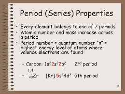 5th Element Periodic Table The Periodic Table And Ionic Bonding Part 2 Periodic Table Terms