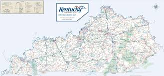 State Map Of Tennessee by Large Detailed Road Map Of Kentucky