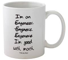 amazon com funny guy mugs i u0027m good with math engineer u0027s ceramic