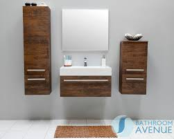 vanity unit antique wood with resin wash basin giuseppine