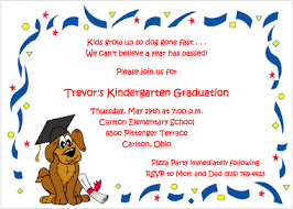 kindergarten graduation cards dog and diploma graduation invitations