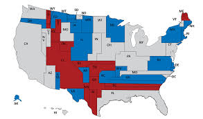 map of us states based on population larry j sabato s the surprisingly unrepresentative