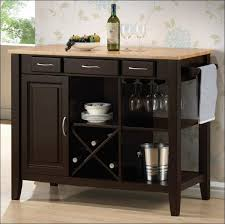 Kitchen  Portable Butcher Block Kitchen Island Movable Island - Mobile kitchen cabinet