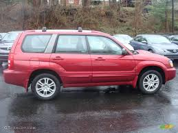 red subaru forester 2005 cayenne red pearl subaru forester 2 5 xt 1830166 photo 6