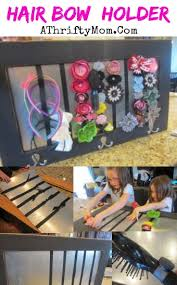 organize hair accessories make your own hair accessories board diy hair bow holder a