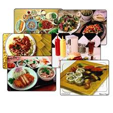 puzzle cuisine multi ethnic food puzzle set set of 6