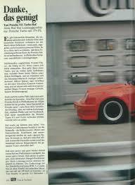 Si E Auto R Er Ruf Btr Auto Motor Und Sport Mag 1984 Porsche Cars
