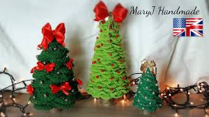 crochet christmas tree maryj handmade youtube