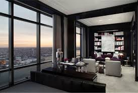 stunning chic penthouse located on the 77th floor in the trump