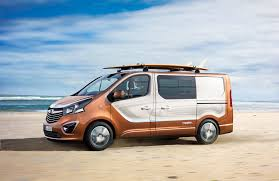 surf car opel vivaro surf concept lifestyle van for sports and leisure