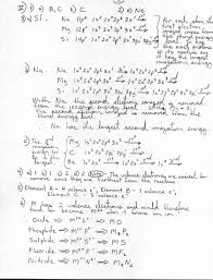 Atomic Structure And The Periodic Table Worksheet Answers by Atomic Structure U0026 Properties11 12